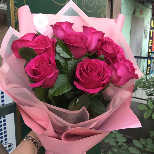 Малиновое кружево: букеты цветов на заказ Flowwow