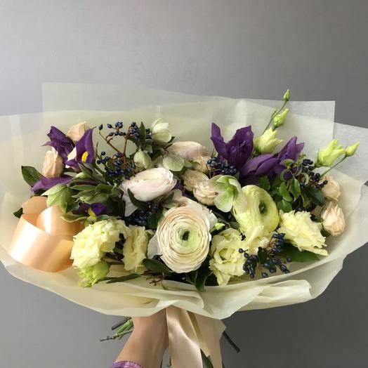 Лавандовый раф: букеты цветов на заказ Flowwow