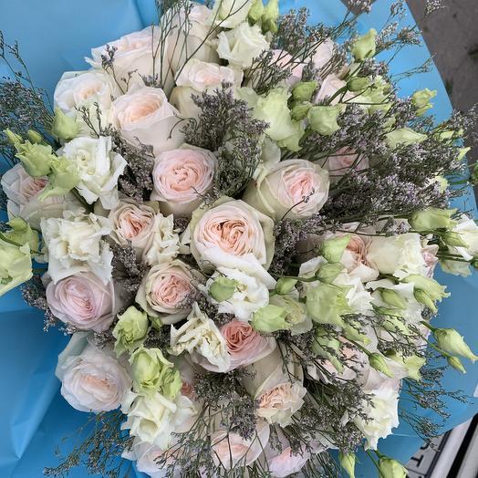 «Розовая длань»: букеты цветов на заказ Flowwow
