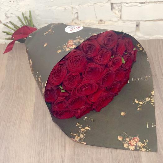 """Букет из роз """"Кармен"""": букеты цветов на заказ Flowwow"""