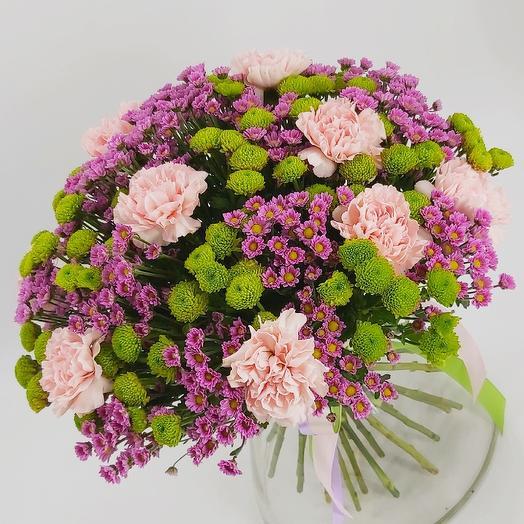 Букет «Кантри»: букеты цветов на заказ Flowwow