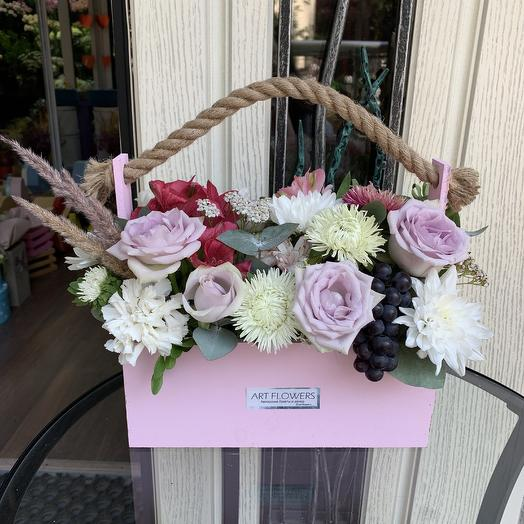 Ящик мечтаний: букеты цветов на заказ Flowwow