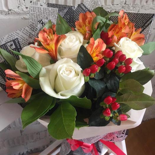 Хорошие новости: букеты цветов на заказ Flowwow