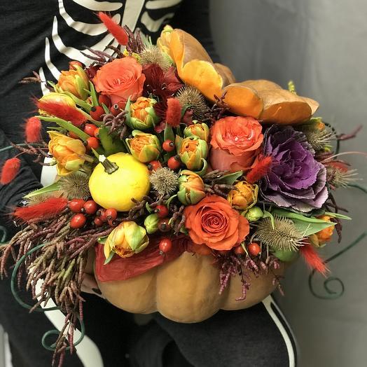 Невероятная тыковка💣: букеты цветов на заказ Flowwow