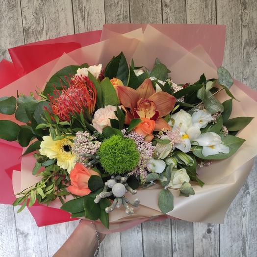 Цветочное настроение: букеты цветов на заказ Flowwow