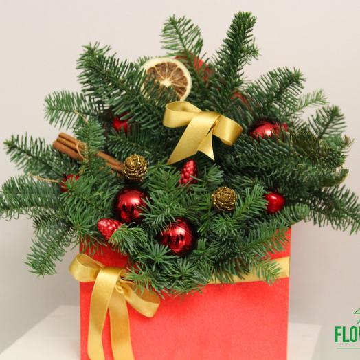 Christmas envelope: flowers to order Flowwow