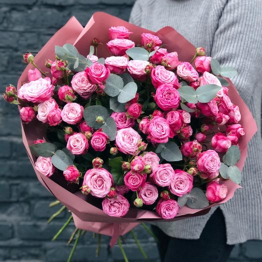 Bouquet of spray Roses: flowers to order Flowwow