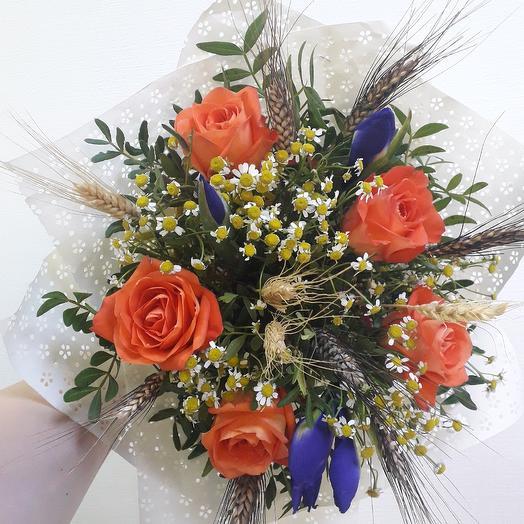 Полевой букетик: букеты цветов на заказ Flowwow