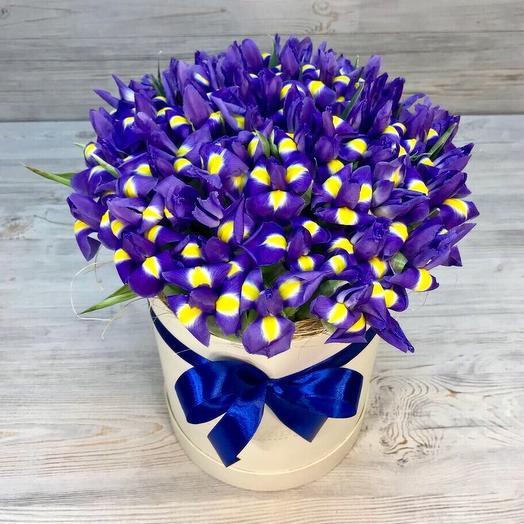 Синий восторг: букеты цветов на заказ Flowwow