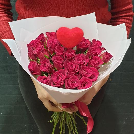 Страстный️: букеты цветов на заказ Flowwow