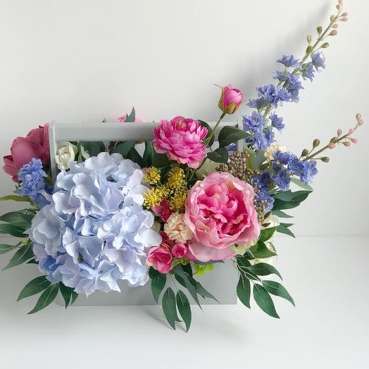 Композиция Французский сад: букеты цветов на заказ Flowwow