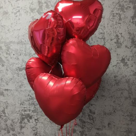 """Маленький сет """"Красное сердце"""""""