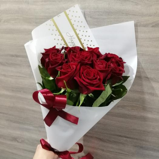 ✅ Букет красных роз 💐