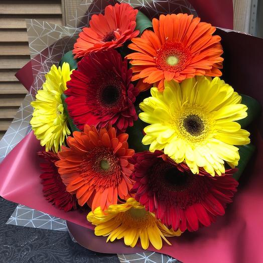 Красочные Герберт: букеты цветов на заказ Flowwow