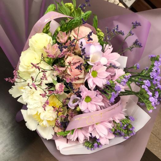 Градиент прованса: букеты цветов на заказ Flowwow