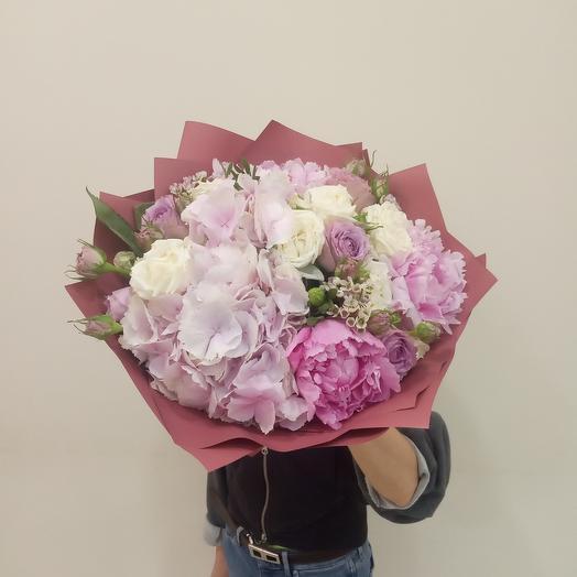 Мечты о Париже: букеты цветов на заказ Flowwow