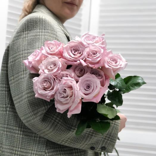 Монобукет роз сорта «Мента»