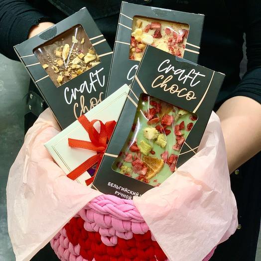 Сладкий набор сбельгийским шоколадом