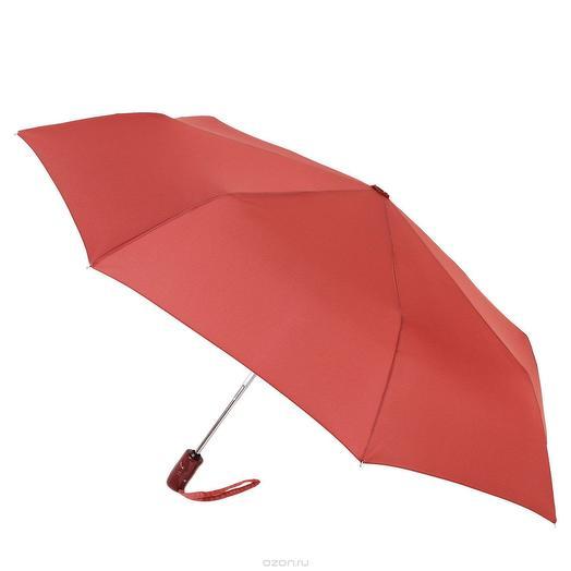 Зонт женский Planet с защитой от УФ лучей бордовый