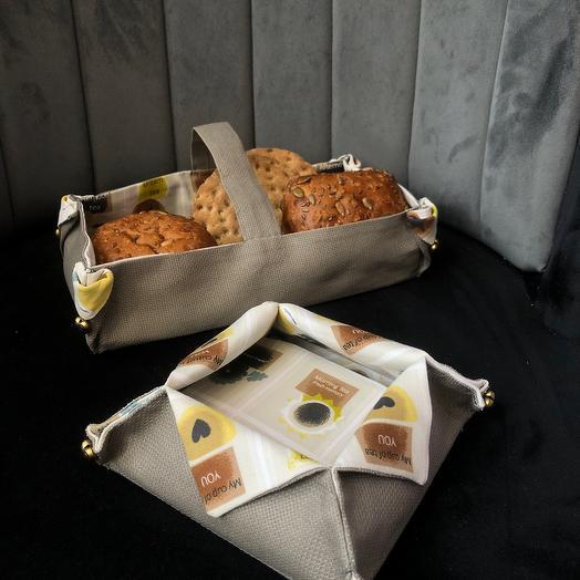 Набор для печенья к чаю ручной работы