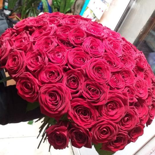 Букет роз Ред наоми 99 шт