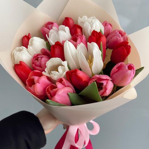 Тюльпаны 25шт