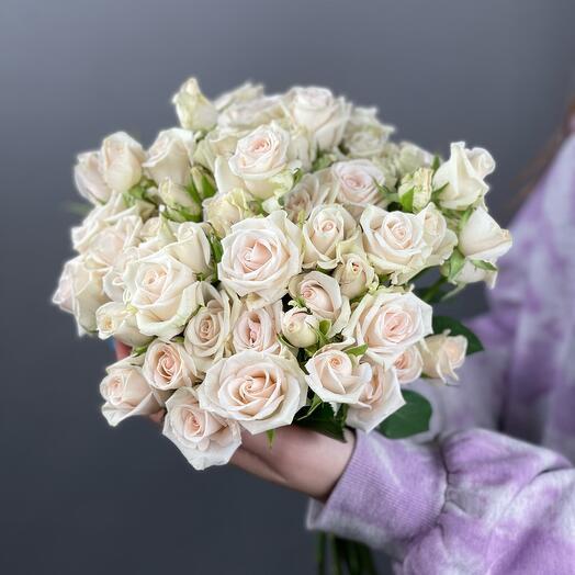 Свадебный букет «Нежность Парселины»