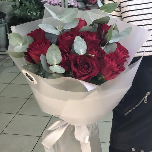 Монобукет роз