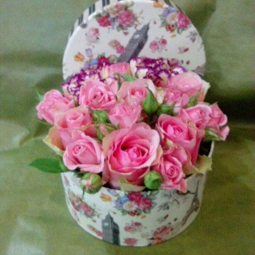 Все розовое: букеты цветов на заказ Flowwow