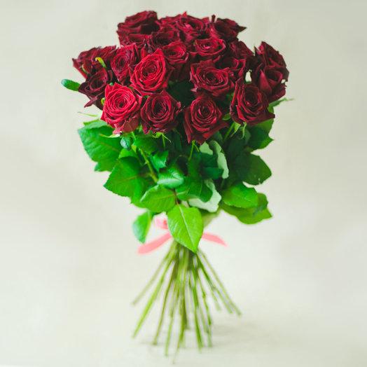 Роза 25шт: букеты цветов на заказ Flowwow