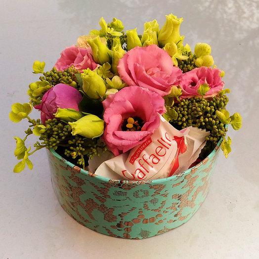 Маленькие радости (Коробочка 268): букеты цветов на заказ Flowwow
