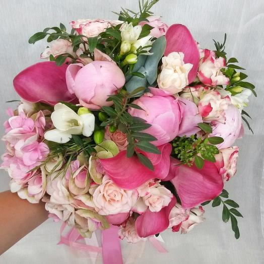 Букет малиновый сорбет: букеты цветов на заказ Flowwow