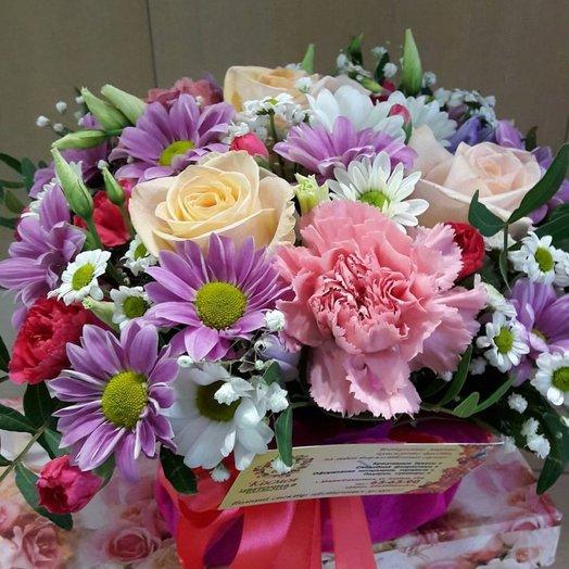 Мини композиция 2: букеты цветов на заказ Flowwow