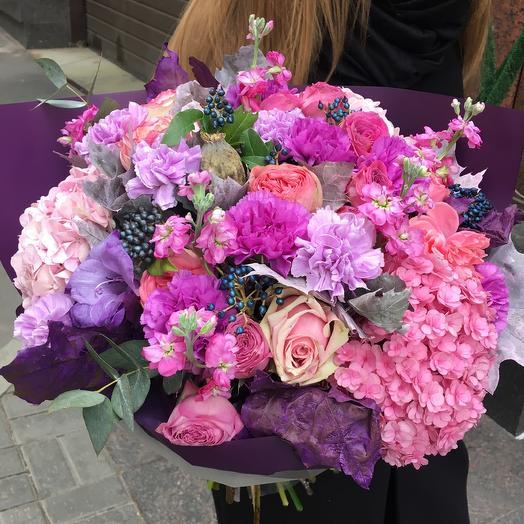 Букет для Барби: букеты цветов на заказ Flowwow
