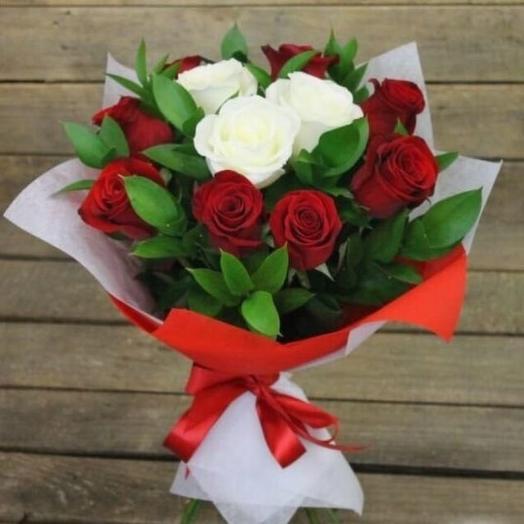 Инь-Янь: букеты цветов на заказ Flowwow