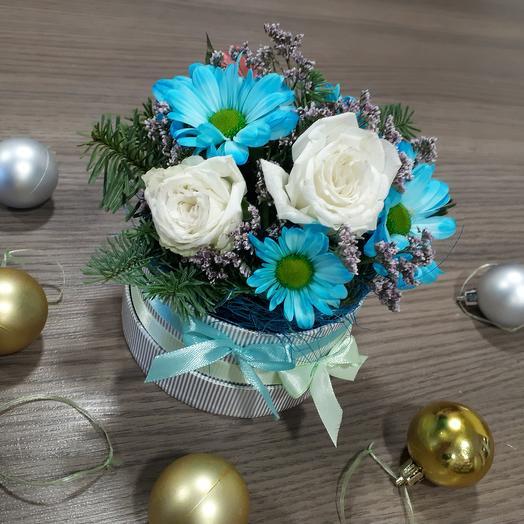 "Композиция ""Зимний сон"": букеты цветов на заказ Flowwow"