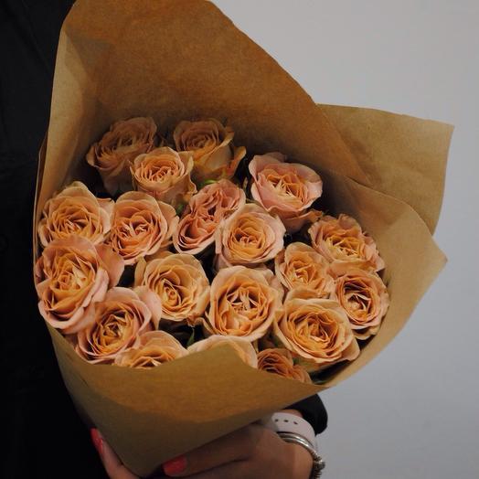 """""""Букет из 19 роз"""": букеты цветов на заказ Flowwow"""