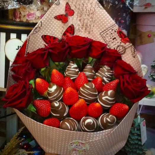 """Букет """"Love"""": букеты цветов на заказ Flowwow"""