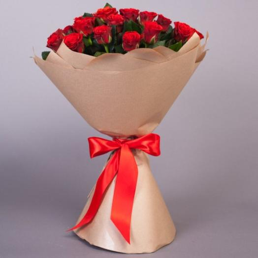 Яркая заря: букеты цветов на заказ Flowwow