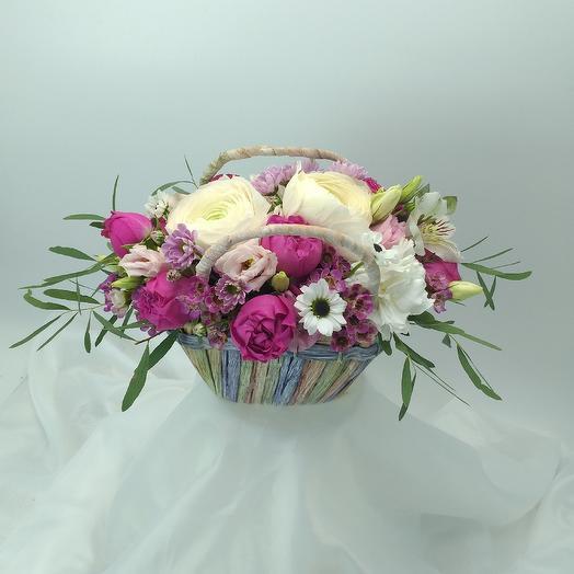 Цветочная композиция 033: букеты цветов на заказ Flowwow
