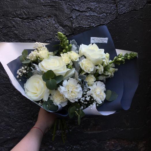 Белый вальс: букеты цветов на заказ Flowwow