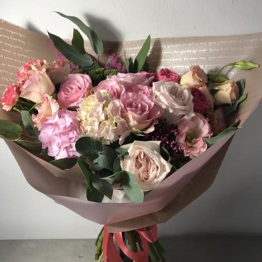 Стильный микс из роз