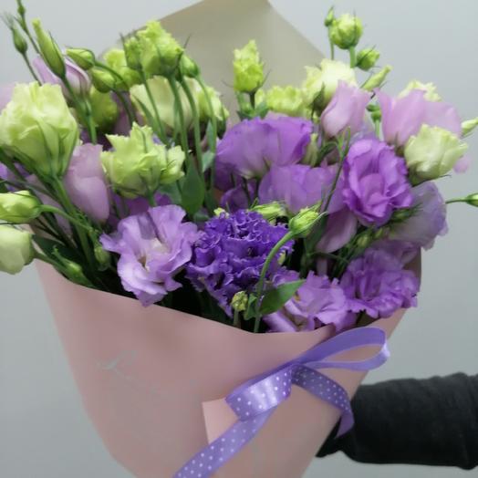 Букет из эустом стильный: букеты цветов на заказ Flowwow