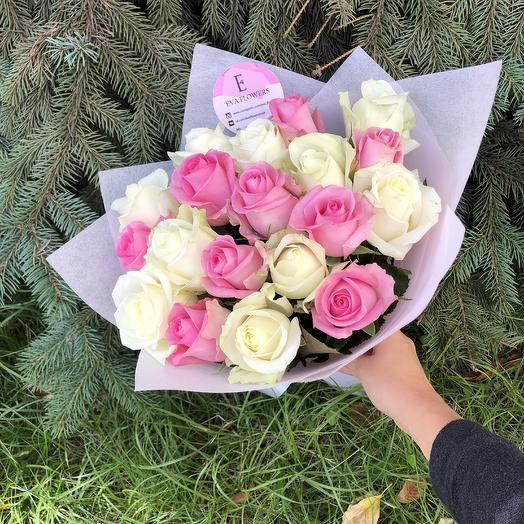 19 розочек: букеты цветов на заказ Flowwow