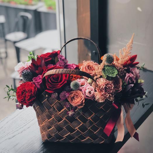 Кофе и Вино: букеты цветов на заказ Flowwow