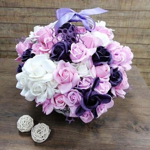 Мыльная композиция: букеты цветов на заказ Flowwow