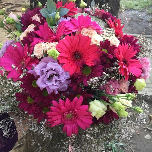 Букет «Гербера»: букеты цветов на заказ Flowwow