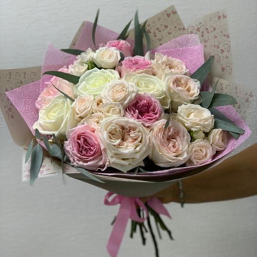 Пионовый бум: букеты цветов на заказ Flowwow