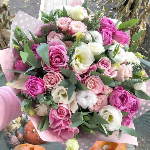 Зимняя улыбка: букеты цветов на заказ Flowwow