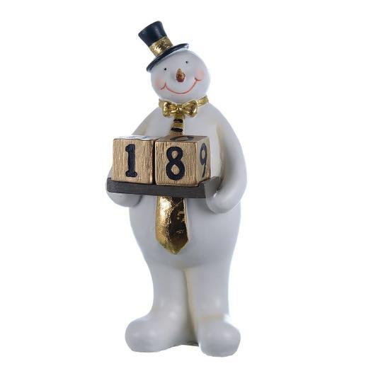 Фигурке декор Месье снеговик